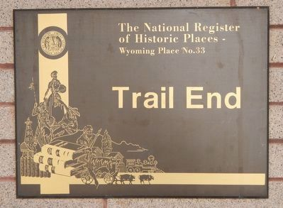 Trail End Marker image. Click for full size.