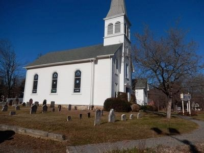 Flanders United Methodist Church and Cemetery image. Click for full size.