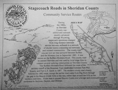 Community Service Routes Marker image. Click for full size.