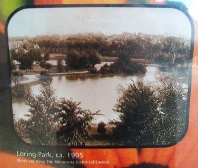 Photo on Welcome to the Historic Loring Park Neighborhood Marker image. Click for full size.