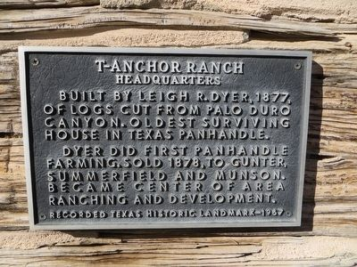 T-Anchor Ranch Marker image. Click for full size.