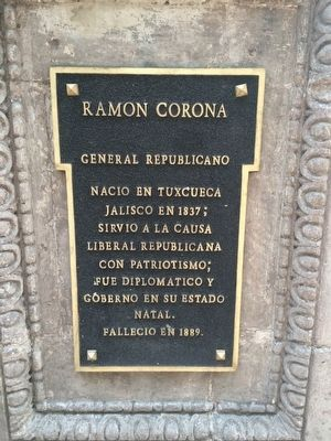 Ramón Carmona Marker image. Click for full size.
