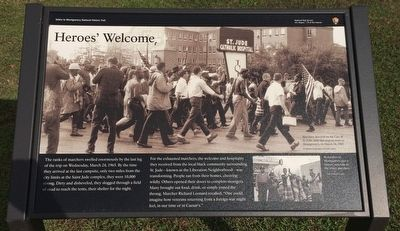 Heroes' Welcome Marker image. Click for full size.