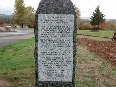 Lewis and Clark Trail Marker image. Click for full size.