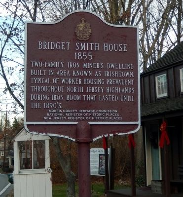 Bridget Smith House Marker image. Click for full size.