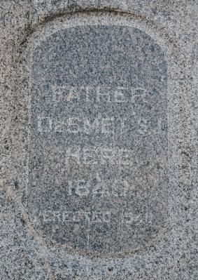 Father DeSmet Marker image. Click for full size.