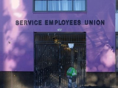 Service Empoyees Union<br>240 Golden Gate Avenue image. Click for full size.