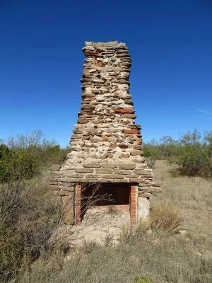Civilian Conservation Corps Fireplace image. Click for full size.