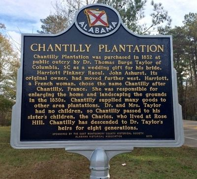 Chantilly Plantation Marker image. Click for full size.