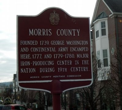 Morris County Marker image. Click for full size.