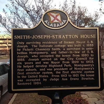 Smith - Joseph - Stratton House Marker image. Click for full size.