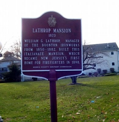 Lathrop Manson Marker image. Click for full size.