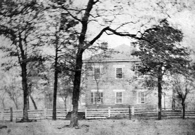 The 1851 Smith County Courthouse image. Click for full size.