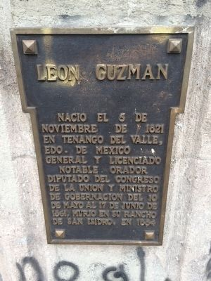 León Guzmán Marker image. Click for full size.