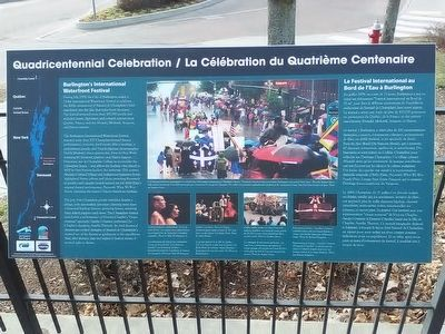Quadricentennial Celebration Marker image. Click for full size.