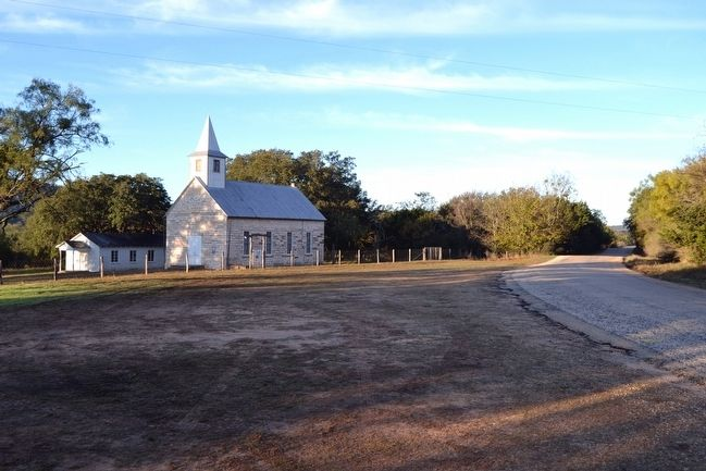 St. John's Lutheran Church south of Lower Crabapple Road image. Click for full size.