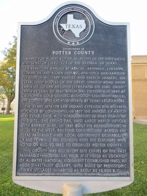 Potter County Marker image. Click for full size.