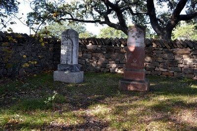 Grave and Headstone (on right) of<br>Wilhelm Marschall von Bieberstein image. Click for full size.