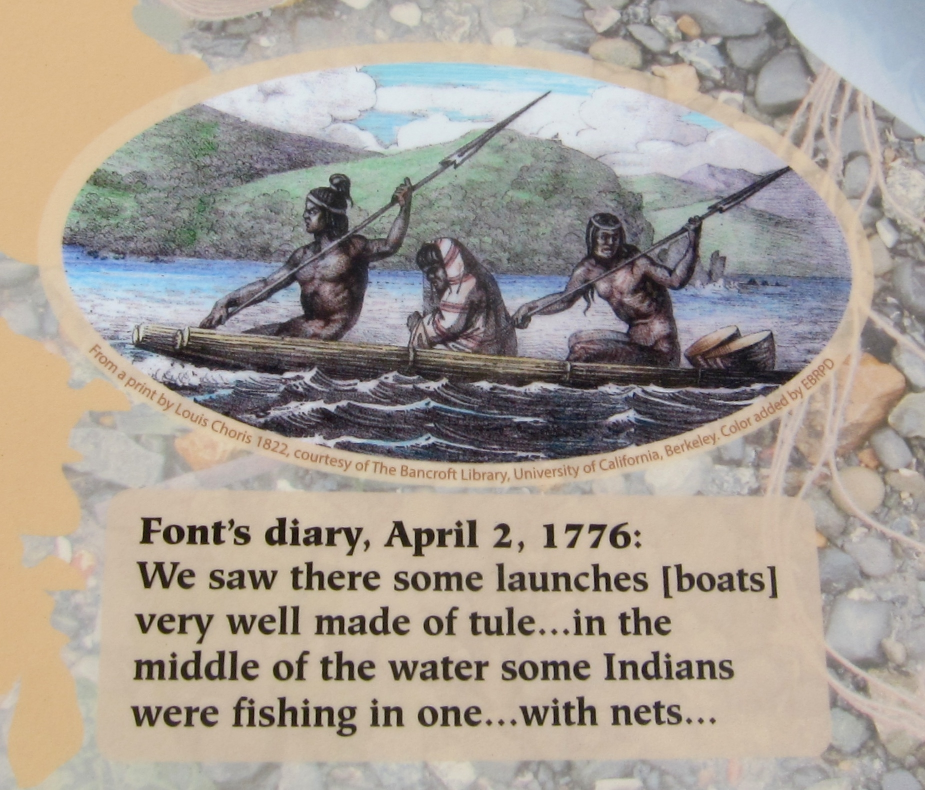 Anza Expedition of 1776 Marker - Inset