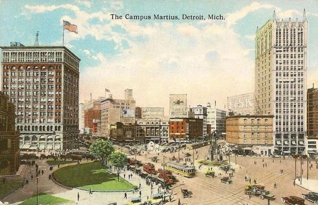 <i>The Campus Martius, Detroit, Mich.</i> image. Click for full size.