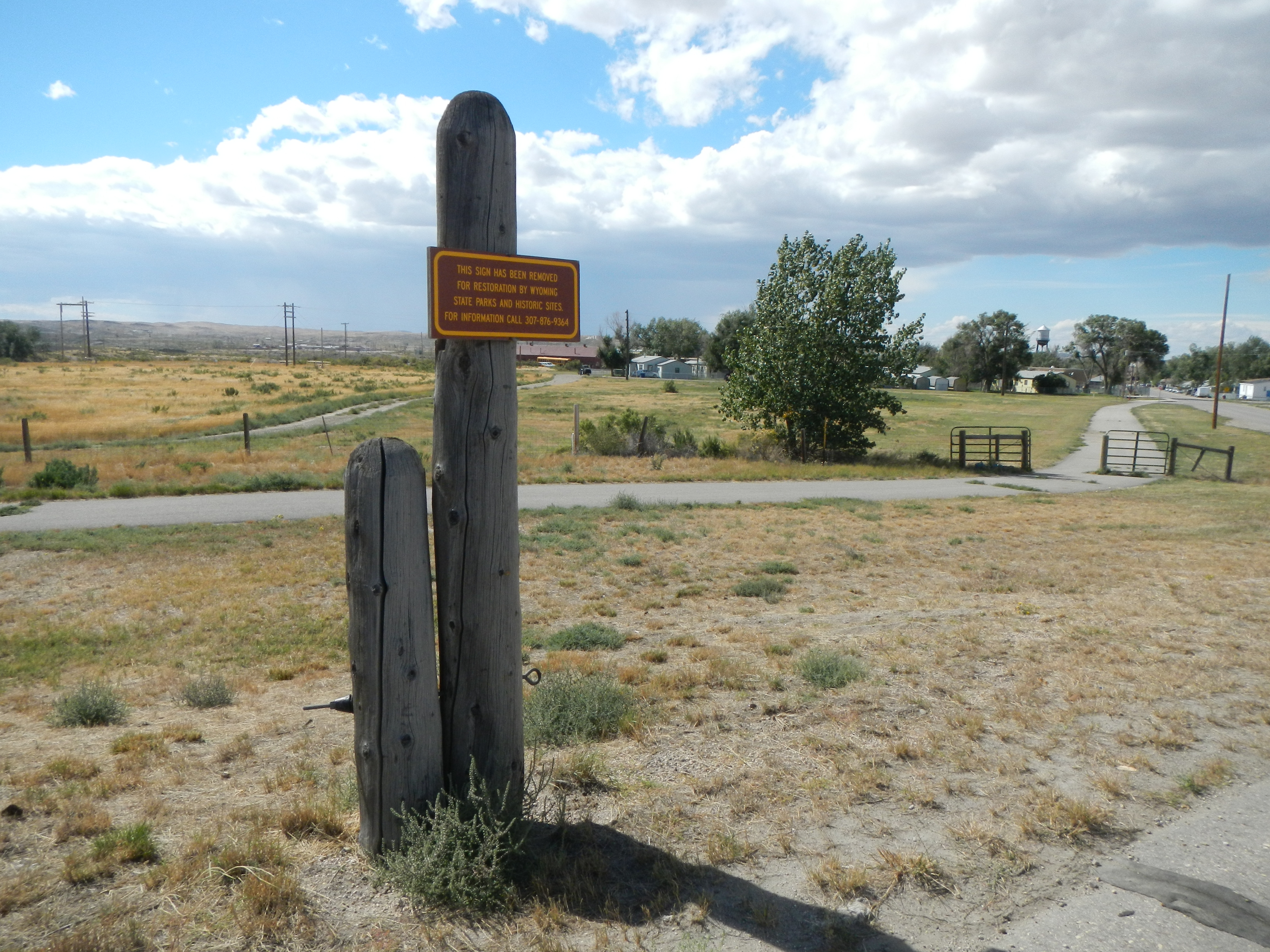 Salt Creek Oil Field Marker