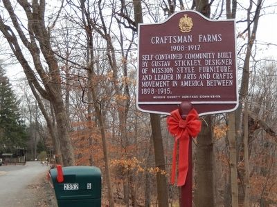Craftsman Farms Marker image. Click for full size.