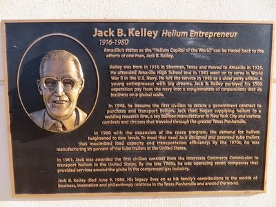 Jack B. Kelley Marker image. Click for full size.