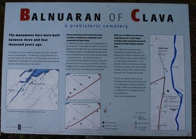 Balnuaran of Clava Marker image. Click for full size.
