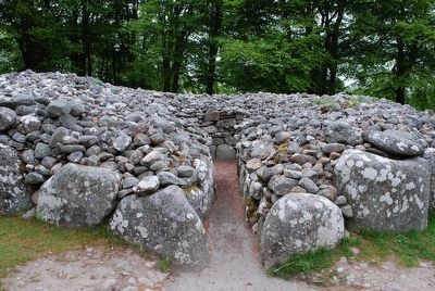 North-East Passage Grave Entrance image. Click for full size.