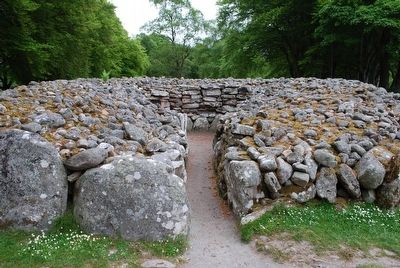 South-West Passage Grave Entrance image. Click for full size.