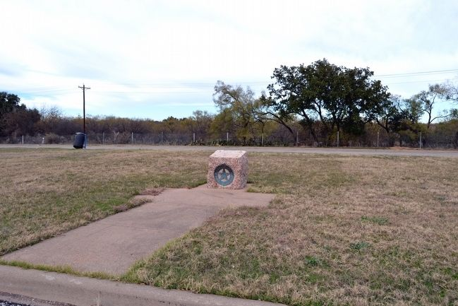 Coleman County Marker at US 84 Roadside Park image. Click for full size.