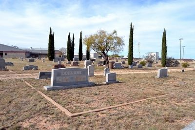 Grave Sites of Boi Albert and Bertha Lembke Cornils image. Click for full size.
