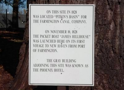 Pitkin's Basin Marker image. Click for full size.