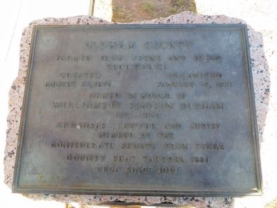 Oldham County Marker image. Click for full size.