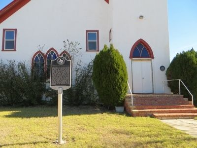 Channing United Methodist Church Marker image, Touch for more information