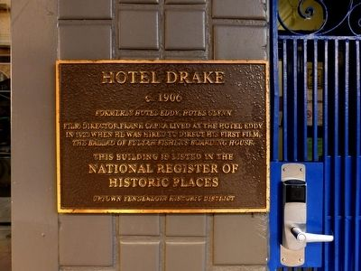Hotel Drake Marker image. Click for full size.