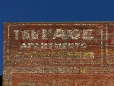 Fading Mural Sign image. Click for full size.