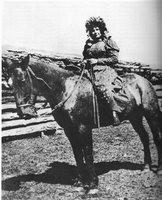 "Ellen L. Watson (""Cattle Kate"") image. Click for full size."