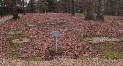 Hubbard Family Cemetery Slave Graves image. Click for full size.