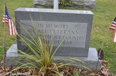 Washtenaw County War Memorial Marker – Additional marker. image. Click for full size.