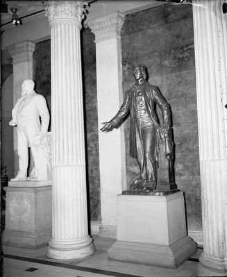 <i>The Starr King Statue in Capitol</i> image. Click for full size.