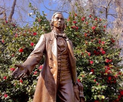 Statue of Thomas Starr King in Capitol Park in Sacramento image. Click for full size.