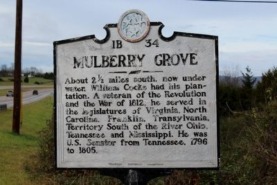 Mulberry Grove Marker image. Click for full size.