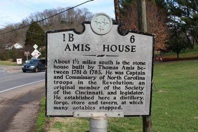 Amis House Marker image. Click for full size.