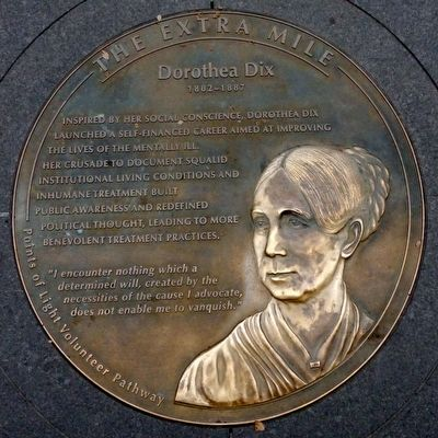 Dorothea Dix 1802 - 1887 Marker image. Click for full size.