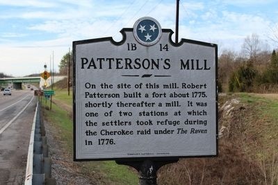 Patterson's Mill Marker image. Click for full size.