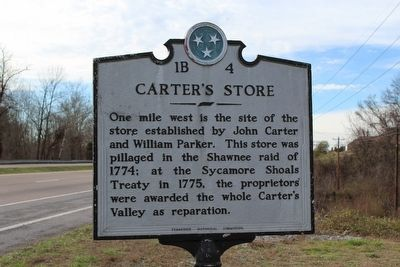 Carter's Store Marker image, Touch for more information