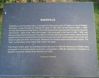 Eadsville Marker image. Click for full size.