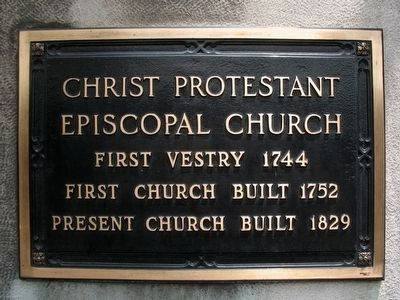 Christ Protestant Episcopal Church image. Click for full size.