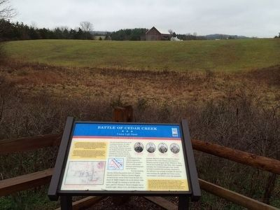 View of Thorndale Farm from Marker image. Click for full size.